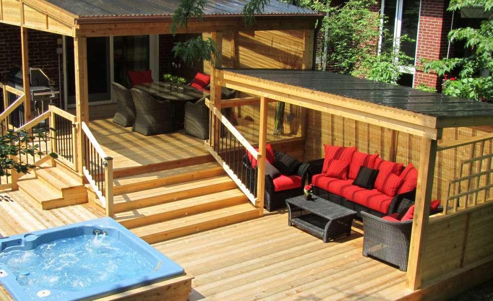 Entreprises certifi es net certification cloture patios et clotures beaulieu - Idee de patio en bois ...
