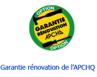 Garantie Rénovation APCHQ